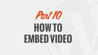 How to Embed Video and Audio