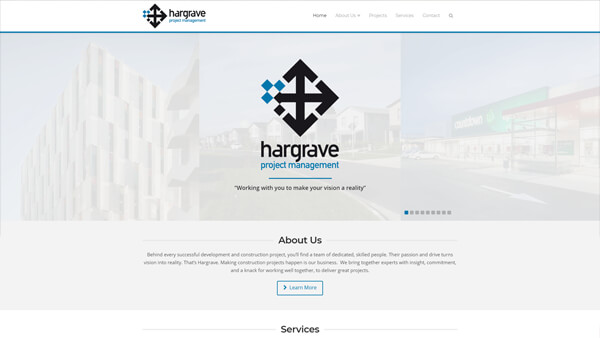 WordPress Wizards - Slider - Hargrave