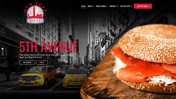 WordPress Wizards - Slider - New York Deli